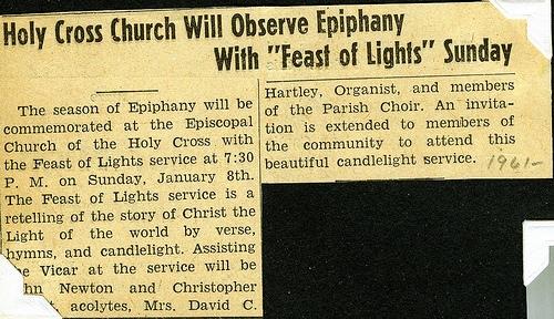 Epiphany article 1961