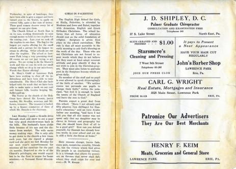 Parish record pg10+11