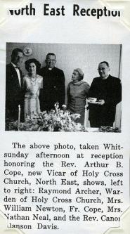 New Vicar Reception
