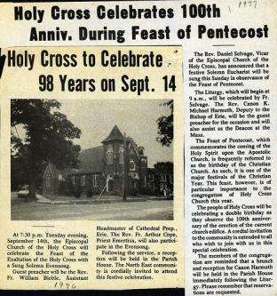 98th & 100th Anniversary