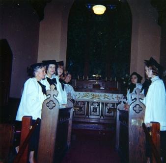 Choir members 2