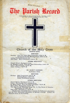 Parish record pg.1