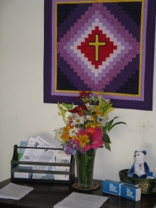 Quilted cross - UTO