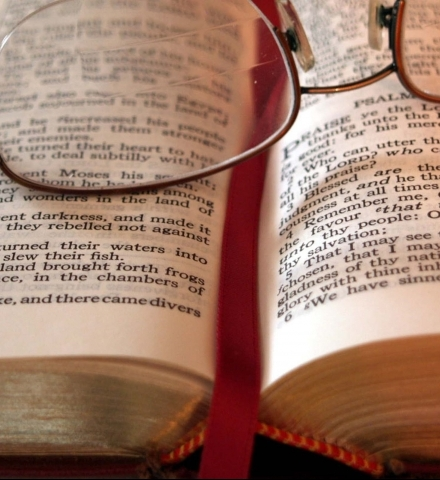 Bible reading glasses